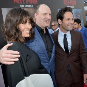 Kevin Feige, Paul Rudd, Evangeline Lilly