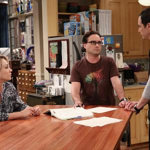 Kaley Cuoco, Johnny Galecki, Jim Parsons