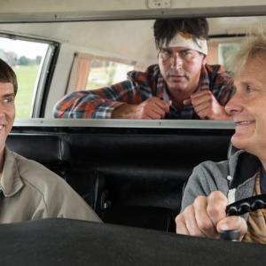 Jim Carrey, Jeff Daniels, Rob Riggle