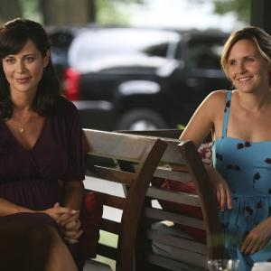 Still of Catherine Bell and Sally Pressman in Army Wives 2007