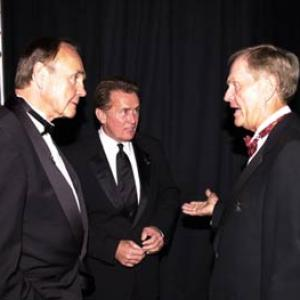 Martin Sheen, Dick Enberg, Jack Nicklaus