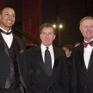 Martin Sheen, Tiger Woods, Jack Nicklaus