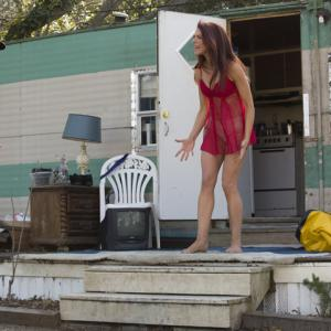 Melanie Specht and Nate Panning production still from