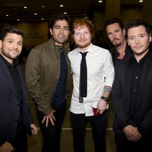Kevin Dillon, Adrian Grenier, Kevin Connolly, Jerry Ferrara, Ed Sheeran