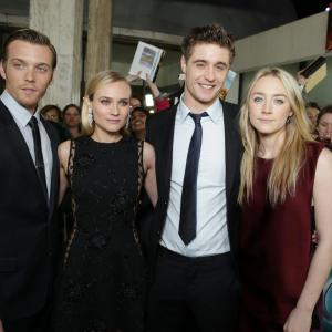 Diane Kruger Saoirse Ronan Max Irons and Jake Abel at event of Sielonese 2013