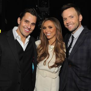 Giuliana Rancic, Joel McHale, Bill Rancic