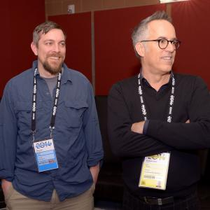 Todd Douglas Miller and John Cooper at event of Dinosaur 13 2014