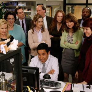 Creed Bratton, Kate Flannery, Paul Lieberstein, Phyllis Smith, Angela Kinsey, Leslie David Baker, Brian Baumgartner, Ellie Kemper, Stanley Hudson