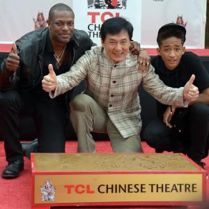 Jackie Chan, Chris Tucker, Jaden Smith