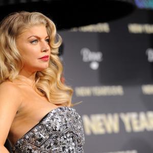 Fergie at event of Naujieji metai Niujorke 2011
