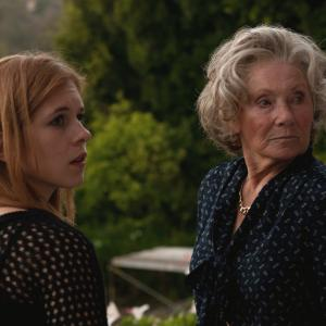 Marion Ross and Magda Apanowicz in A Reason 2014