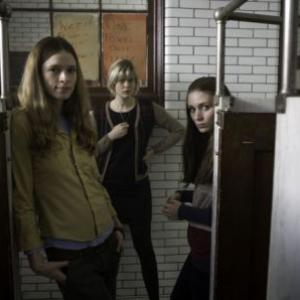 Still of Amy Ferguson and Georgia King in Tanner Hall (2009)