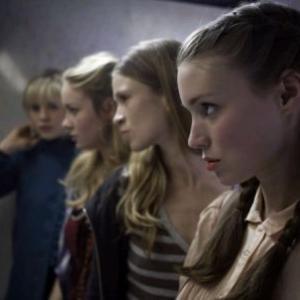 Still of Brie Larson, Amy Ferguson, Rooney Mara and Georgia King in Tanner Hall (2009)