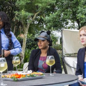 Still of Niecy Nash, Skyler Samuels and Keke Palmer in Scream Queens (2015)