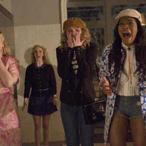 Still of Abigail Breslin, Skyler Samuels, Keke Palmer and Whitney Meyer in Scream Queens (2015)