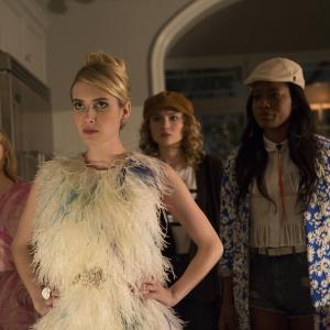 Still of Emma Roberts, Abigail Breslin, Skyler Samuels and Keke Palmer in Scream Queens (2015)