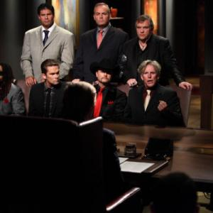 Still of Gary Busey Jose Canseco Niki Taylor and Lil John in The Apprentice 2004