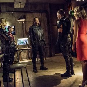 David Ramsey, Willa Holland, Katie Cassidy, Stephen Amell, Emily Bett Rickards