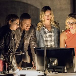 David Ramsey, Willa Holland, Katie Cassidy, Emily Bett Rickards