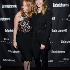 Emily Blunt and Jessica Chastain