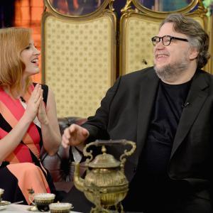 Guillermo del Toro and Jessica Chastain