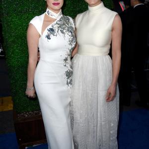 Rosamund Pike and Jessica Chastain