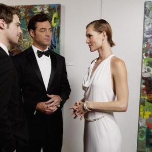 Still of Jolene Andersen David S Lee and Grey Damon in The Nine Lives of Chloe King 2011