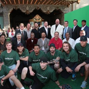 Mark Ciardi, Kenny Lofton, David Wells, Dave Winfield, Rollie Fingers, Fred Lynn, Tom House, Clyde Wright, Jaret Wright, Eric Davis, Ken Landreaux, Mark Kotsay, Dinesh Patel, Rinku Singh