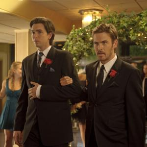 Still of Nicholas Braun and Zach Cregger in Date and Switch (2014)