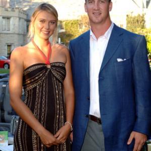 Peyton Manning and Maria Sharapova at event of ESPY Awards (2005)