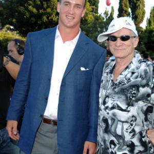 Hugh M. Hefner and Peyton Manning at event of ESPY Awards (2005)