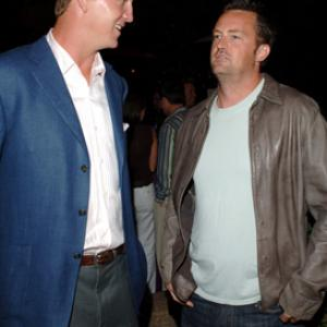 Matthew Perry and Peyton Manning at event of ESPY Awards (2005)