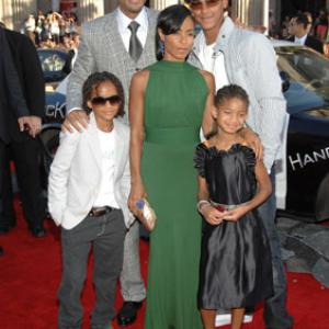 Will Smith, Jada Pinkett Smith, Jaden Smith, Trey Smith, Willow Smith