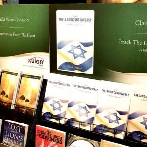 Vicki Johnson Top Shelf Display at Atlanta Book Convention 2014