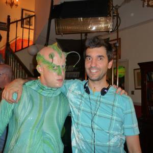 Marek Larwood and David Sant in Hotel Trubble