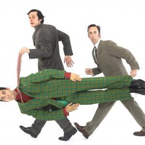 Javier Marzan, John Nicholson and David Sant in Peepolykus