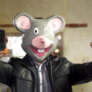 David Sant as Cartoonhead in Ideal.