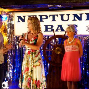 Still of David Sant, Siobhan Finneran and Sherrie Hewson in Benidorm series 6.