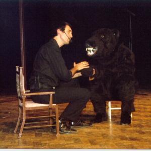 David Sant and Bonzo in Mindbender