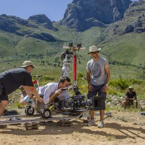 Still of David Sant shooting in South Africa. Michael Carstensen behind the camera.