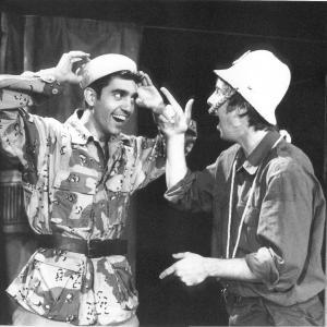 David Sant and John Nicholson in Let The Donkey Go