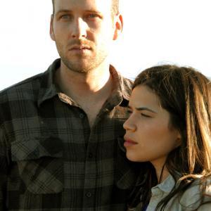 Still of America Ferrera and Ryan ONan in The Dry Land 2010