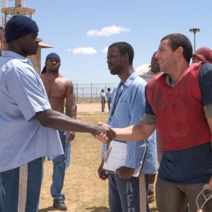 Adam Sandler, Chris Rock, Michael Irvin
