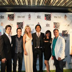 Reach Premiere at Dances with Films 2013. Left to Right: Eddie Finlay, Daniel Bonjour, Jelly Howie, Roy Vongtama, Victoria Cruz, Henry LeBlanc