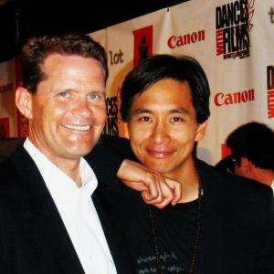 James Harris (writer/producer) and Roy Vongtama (director) at World Premiere Red Carpet Event 2012 Dances with Films Festival