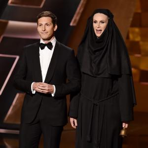 Jane Lynch, Andy Samberg
