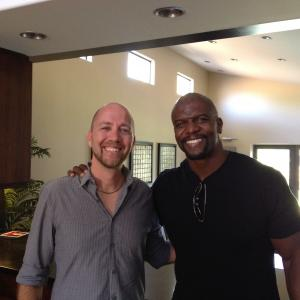 Terry Crews and and Director Keith Arem
