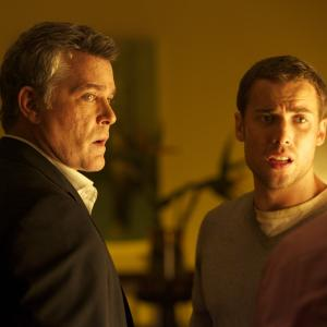 Still of Ray Liotta and Dustin Milligan in The Entitled (2011)