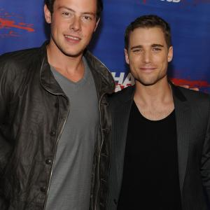 Dustin Milligan and Cory Monteith at event of Shark Night 3D (2011)