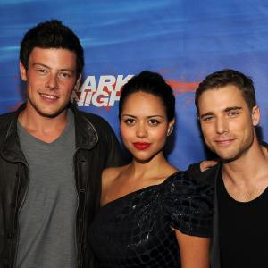Alyssa Diaz, Dustin Milligan and Cory Monteith at event of Shark Night 3D (2011)